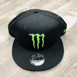 NWOT MONSTER ENERGY NEW ERA 9FIFTY SNAPBACK HAT